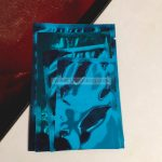 ซองซีล 3 ด้าน เนื้อพลาสติกเงา สีฟ้า